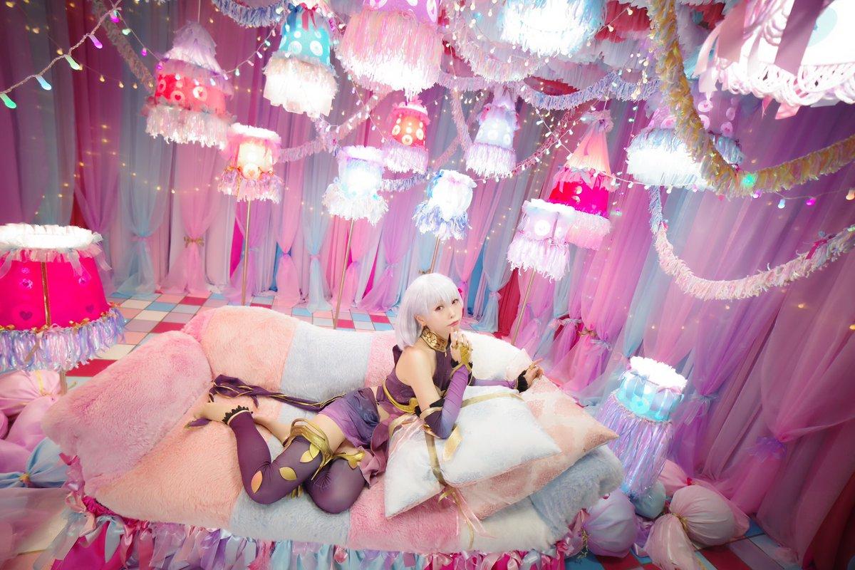 Fate/Grand Order・:° 私はカーマ、愛の神です。   でも、私に恋愛相談とかは    しないほうがいいと思いますよ?                ・:°Photo(@ren1918 )studio(@studio__ao )#もなコス #shir0xxxデザインブース