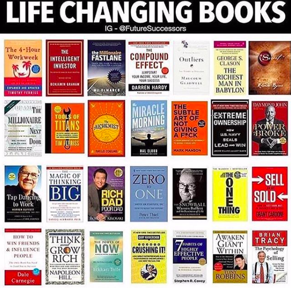 Have you read any of these? 📚 https://t.co/Vl5qggHTvV