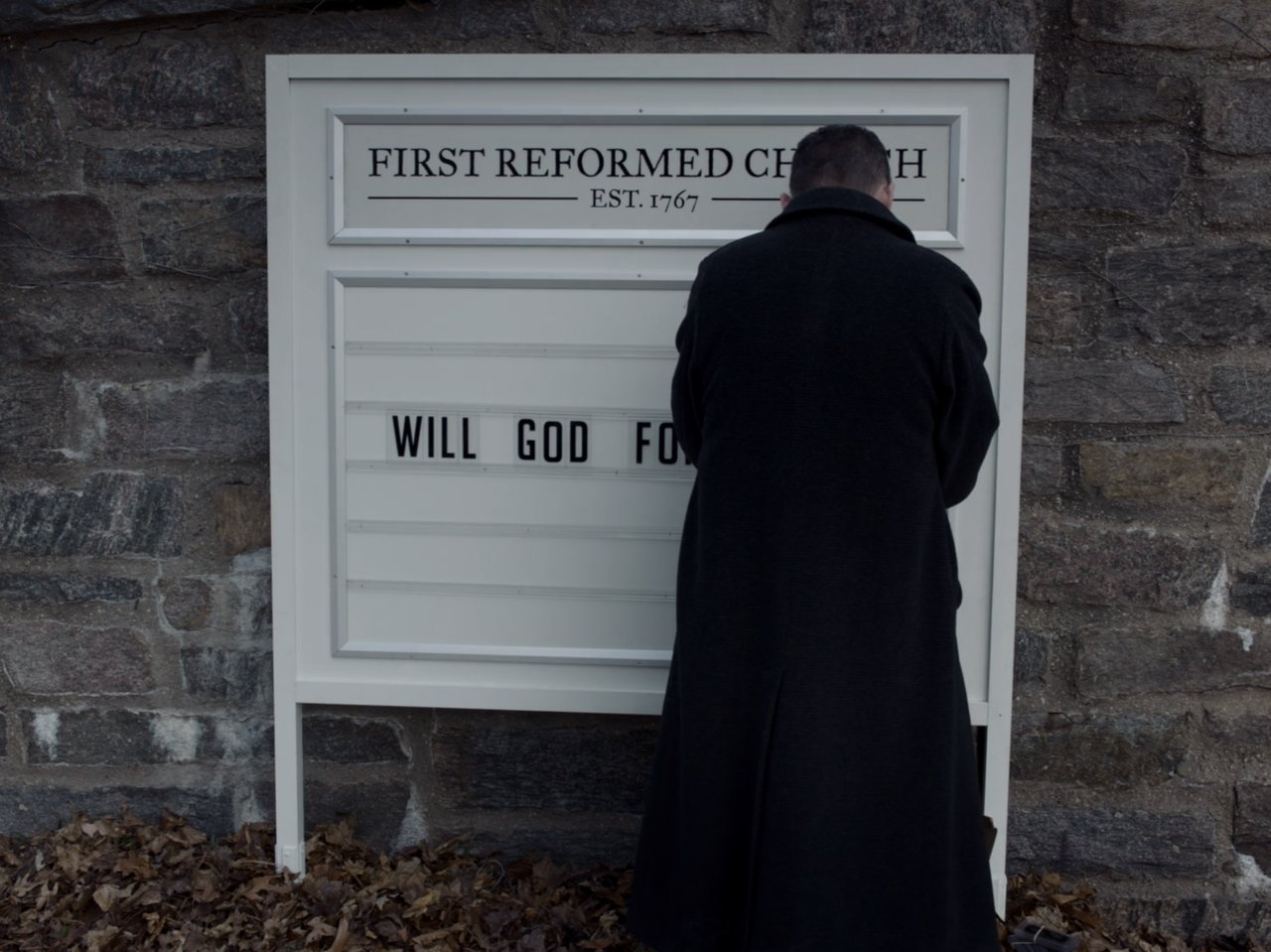 """One Perfect Shot on Twitter: """"FIRST REFORMED (2018) Cinematography by  Alexander Dynan Directed by Paul Schrader Read about its visual austerity:  https://t.co/RY2o4MjqYG… https://t.co/iPwyfV7t42"""""""