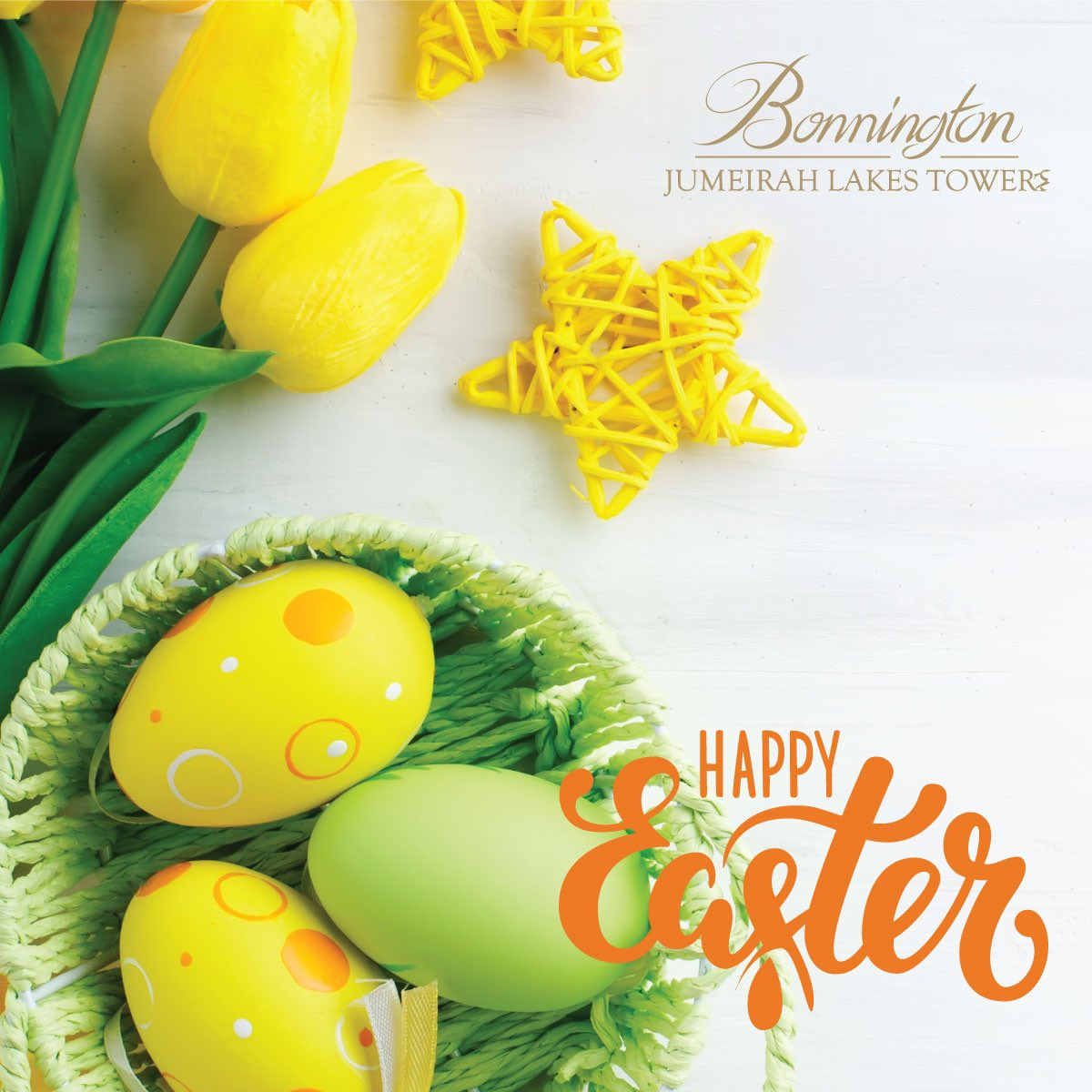 From our family to yours, we wish you a Happy Easter. 🐣 #BonningtonTower   #HappyEaster #Easter #EasterSunday https://t.co/AmBElDTh2U