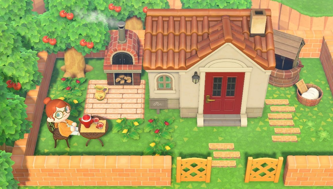 住人 の家 あつ森