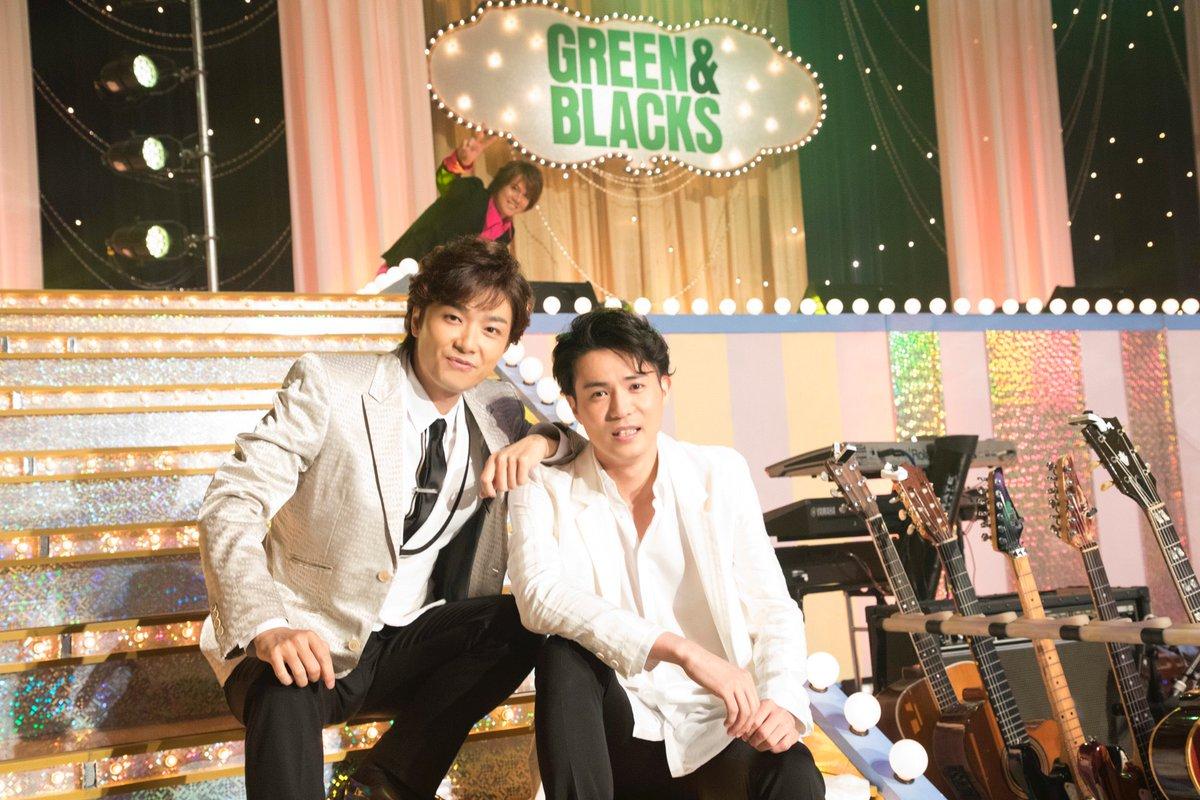 グリブラ オフショット浦井健治 さんがスタジオに入り 井上芳雄 さんと 平方元基 さんを見つけるや否