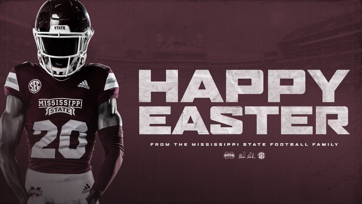 Happy Easter from all of us here at Mississippi State!  #HailState https://t.co/5ALUO2hDYW