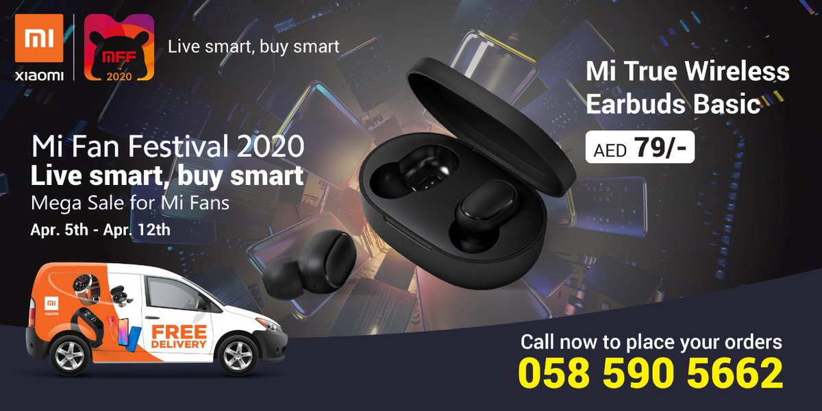 Mi Fans Festival 2020 is here!!#MiFans !  Get amazing deals on your favourite Xiaomi products.  Stay safe indoors while we deliver your orders at your doorstep absolutely Free !!  Message us for more details.  #MiFanFestival2020 #MFF2020pic.twitter.com/IN8OpDbblr