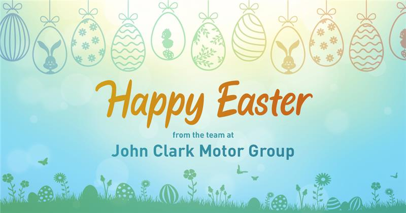 Wishing you a happy and safe Easter at home.  From the John Clark Motor Group #StayHomeStaySafe https://t.co/yuWbUo3UIw
