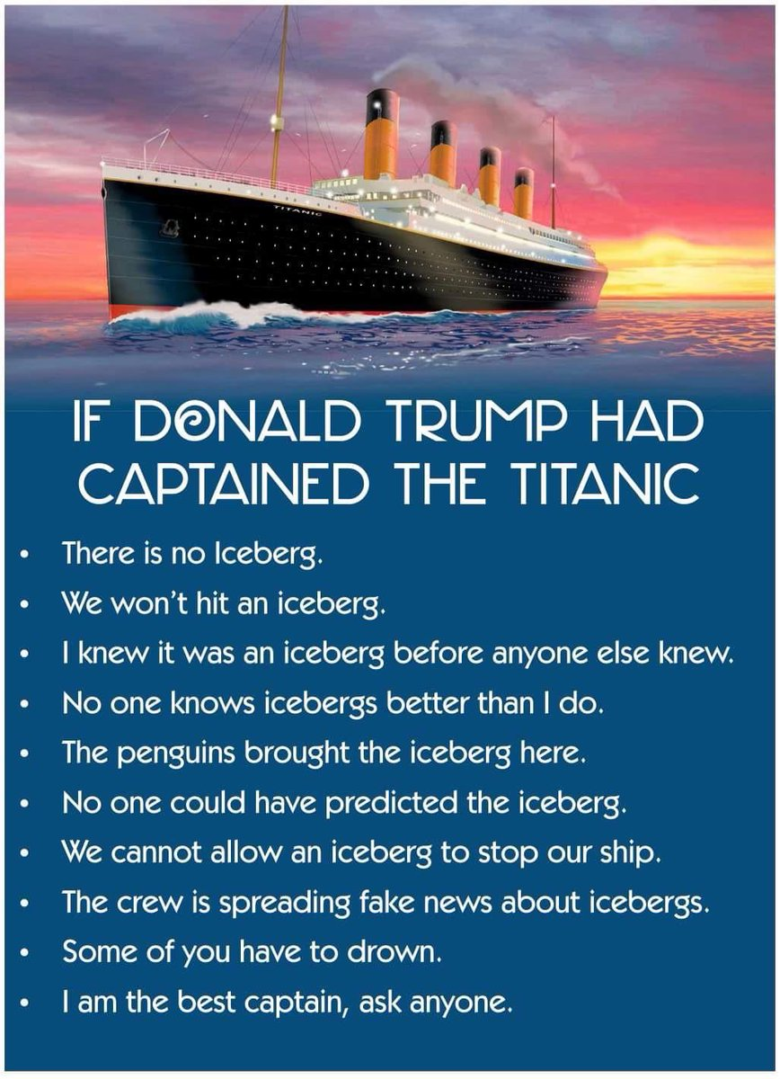 """Daphnée Denis 💃🏽 on Twitter: """"If Trump had been the captain of ..."""