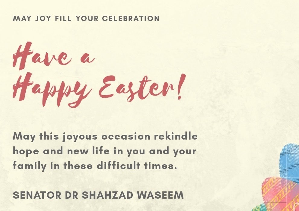 I wish all my christians friends and their families the renewal of life, love, and happiness.  Happy Easter To All. #Easter2020 https://t.co/8dLPrsEZmV