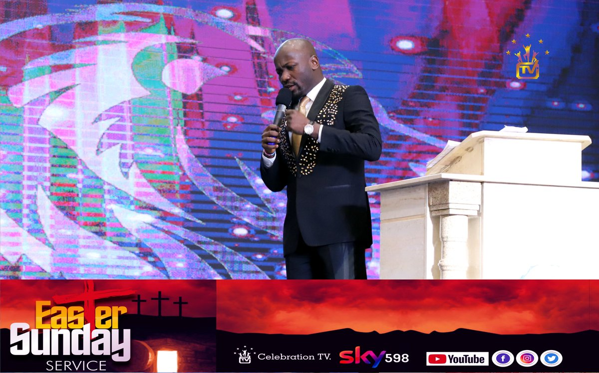 Celebrationtv On Twitter Resurrection Service Easter Sunday With Apostle Johnson Suleman Prayertime My Father 2x As I Begin To Pray The Troubles Of Life The Enemies Of Destiny The Challenges Of Human