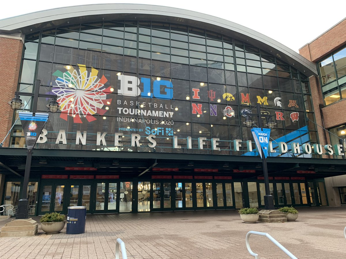 One month ago today, the #B1GTourney was canceled. I know I'm not alone when I say it feels like a year. 📸: @AdamJRossow https://t.co/0CaApHH9zo