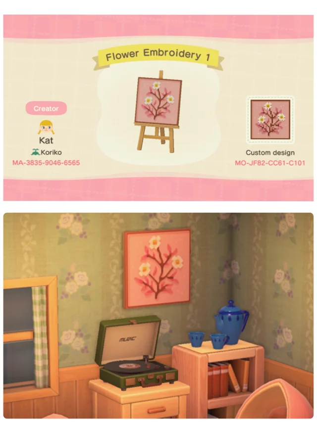Animal Crossing New Horizons Design Codes On Twitter This Pink