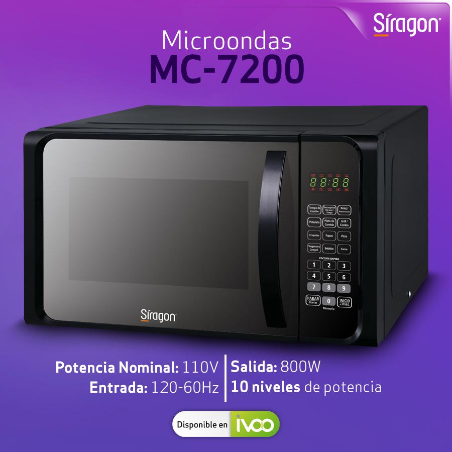 ¡Se adapta a cualquier espacio! El Microondas MC-7200 ofrece un gran estilo que se adapta perfectamente a tu cocina. Cómpralo en @ivoovenezuela a través de https://t.co/MckD8ZGXd6  #QuedateEnCasa #ActivosDesdeCasa #HogarSiragon https://t.co/2pouxWMgQJ