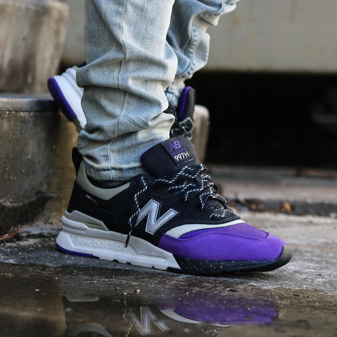 "Balance 997H Cordura ""Purple Toe"