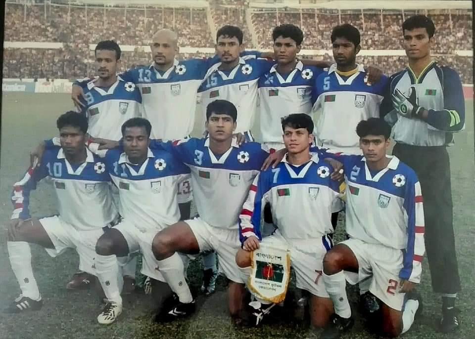 "Football Shirt World در توییتر ""Bangladesh win the 2003 SAFF Gold Cup.… """