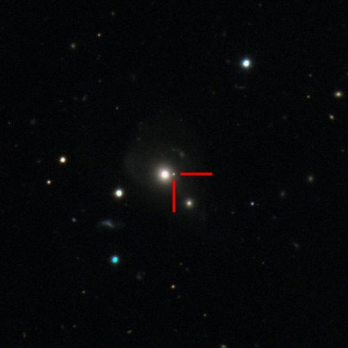 The Type Ia supernova 2019mkv in LEDA69894, 710 million light years away. #ucsctransients #swopetelescope