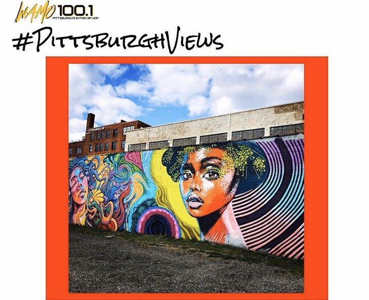 #PittsburghViews Dope art 🎨 views in #StripDistrict❕ Such a beautiful sight to see ❕#RealTalent via: @ashleyhodderart   #WAMO100 #WAMONews #ArtistOnTwitter #Artist  #EntertainmentNews #Radio #412Day #ThankYouBTS  #Pittsburgh #News #LocalNews https://t.co/dAasAth9La