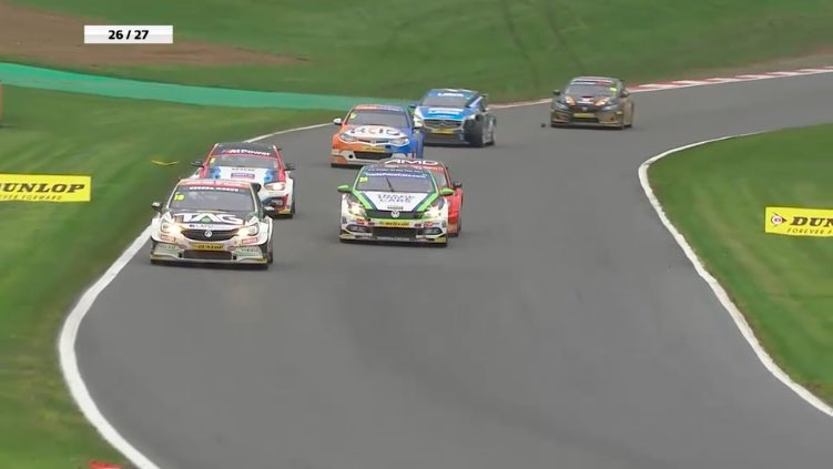 L:26  And it's Proctor leading the way!  #RaceDayWithADifference #BTCC https://t.co/EW7fLDvMUp