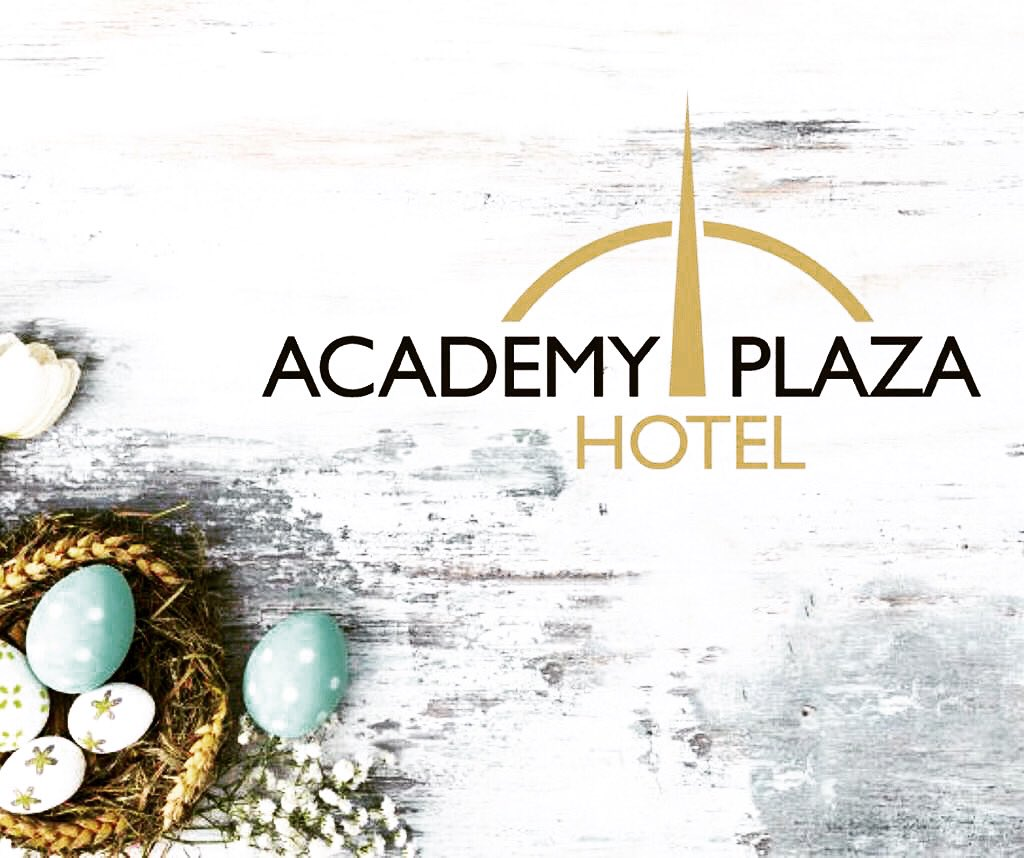 The Management and Staff of Academy Plaza Hotel would like to wish all our patrons a safe and peaceful Easter.  As Easter is a symbol of triumph over adversity, rebirth and new beginnings, we are all seeking great solace in this weekend. We look forward to seeing you all soon. https://t.co/FzEiy0ISat