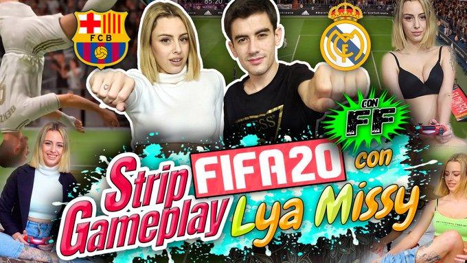 ❤ ¡¡NUEVO VÍDEO!! ❤  STRIP GAMEPLAY FIFA 20 CON LYA MISSY Y... ¡¡SU FINAL FELIZ!! 😎 https://t.co/EzMmFQtHzJ