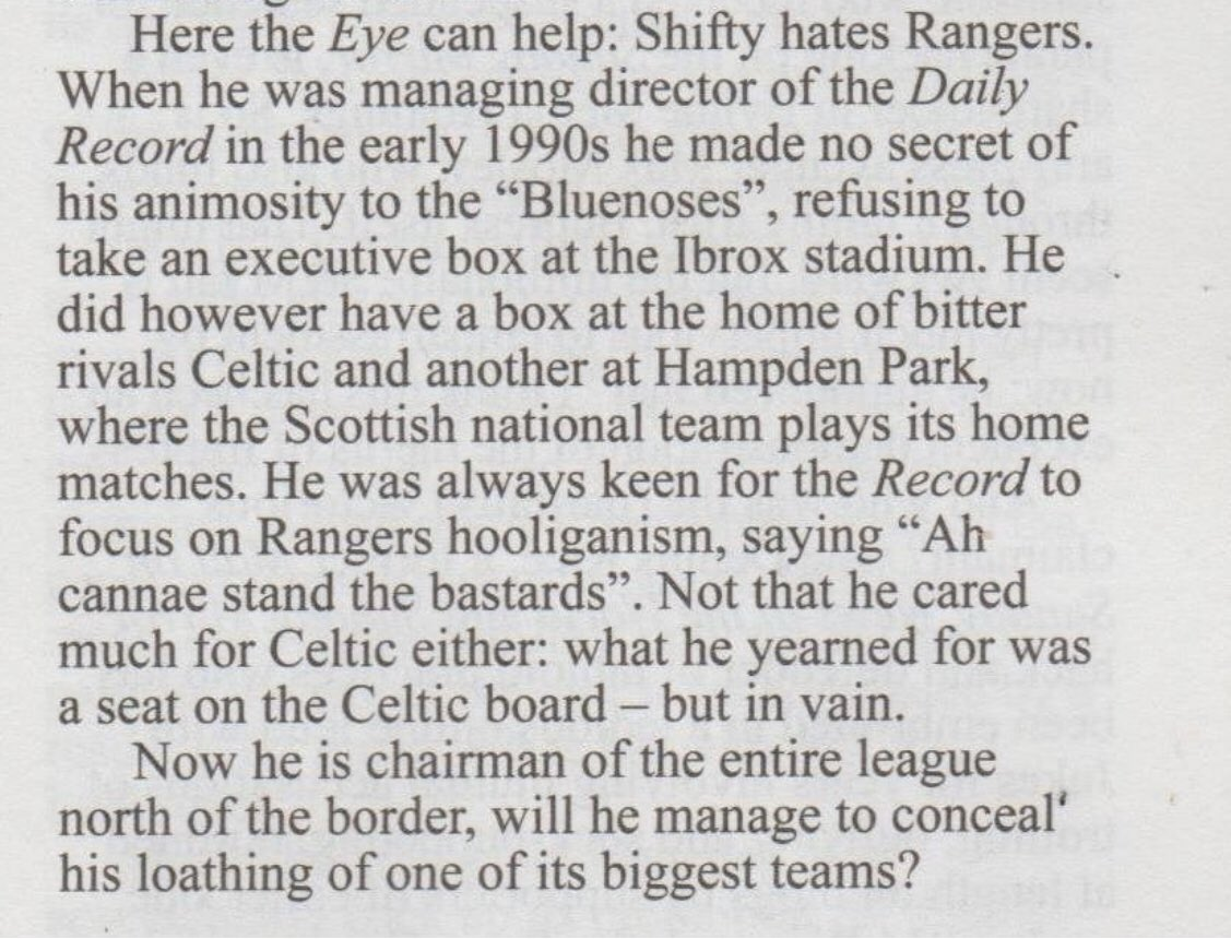 """RangersHistory on Twitter: """"If you haven't heard of the SPFL ..."""