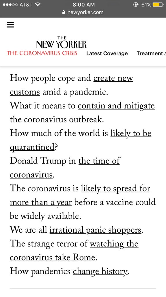 The @newyorker links page is an accidental poet