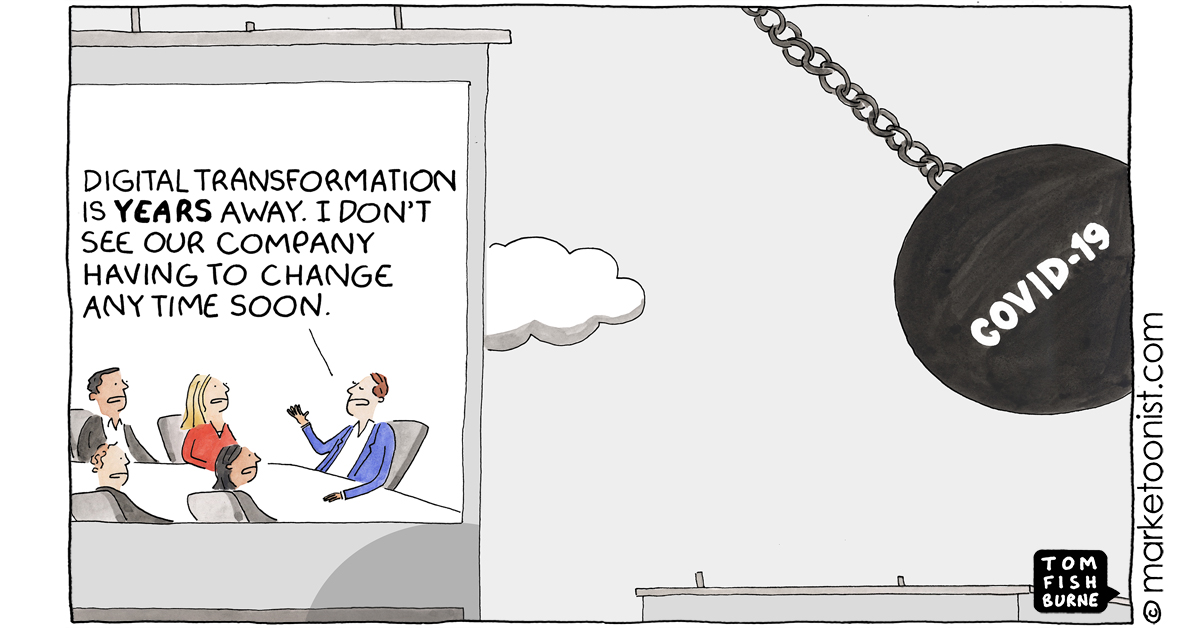 """""""Digital Transformation and Organizational Change"""" - new cartoon and post https://t.co/PqckmPIYYF #marketing #cartoon #marketoon https://t.co/fLx0iqkN3O"""