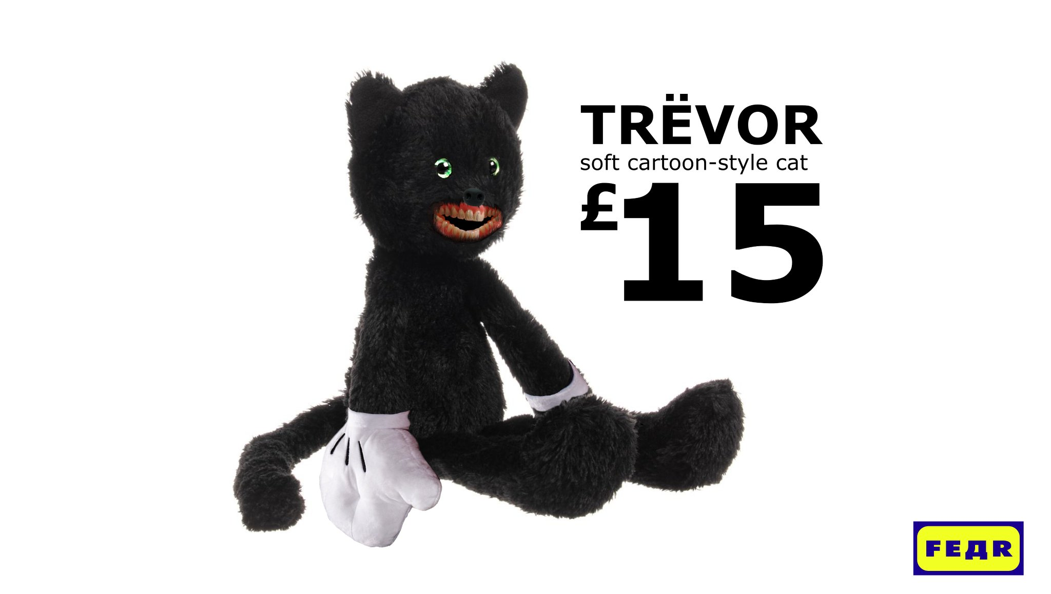 Fedr On Twitter New From Our Soft Toy Range The Trevor Soft