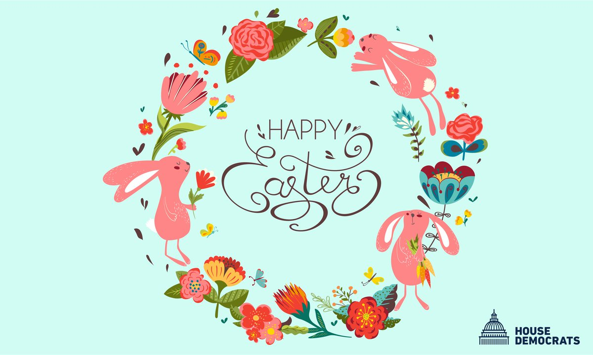 This #Easter, let us be reminded of the power of hope, faith and community. From my family to yours, Happy Easter!