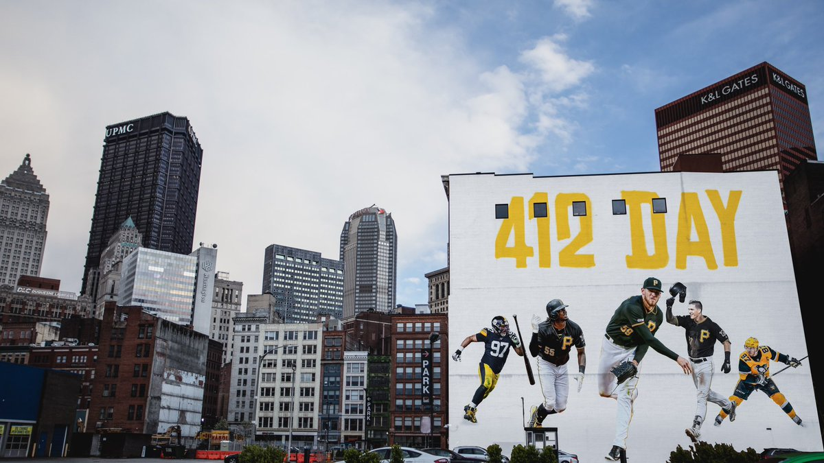 We love you, Pittsburgh!  #412Day https://t.co/h2s41XlS8l
