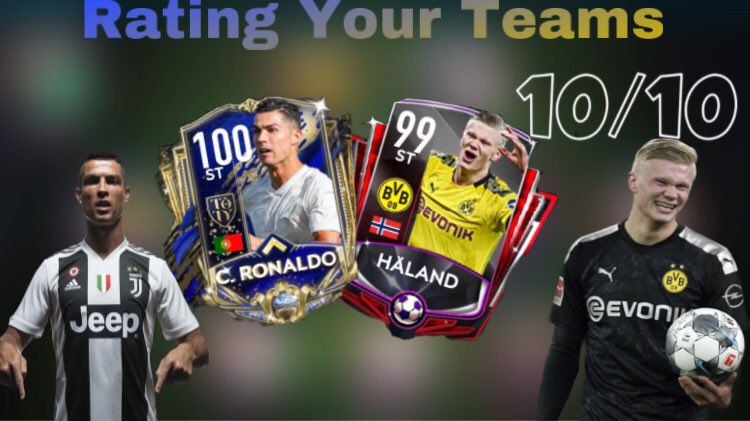 Thumbnail for @PlayzAman. Make sure to watch his latest video of him rating his viewers teams 👀
