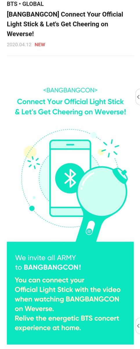 Weverse On Twitter Bts Online Concert Weekend Bangbangcon Join