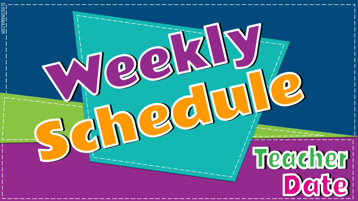 Looking for weekly schedules and evidence of learning templates to modify?!? Inspired by the beautiful graphic design templates from @SlidesManiaSM, here is folder of templates to use, modify, or share. Blessings to ALL. #BetterTogether Folder here --> drive.google.com/open?id=1fX_ug…