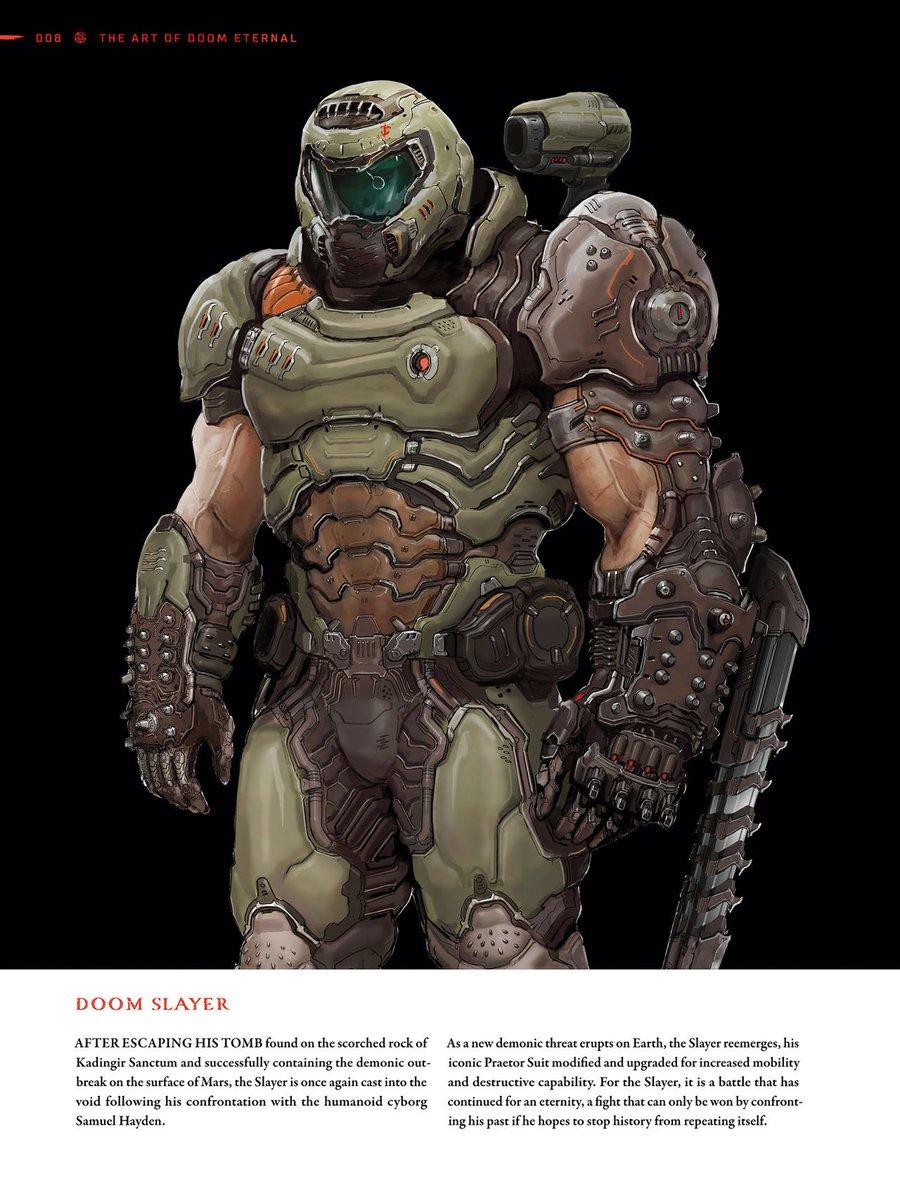 Draegore Nagendra On Twitter Doom Slayer Concept Art From The