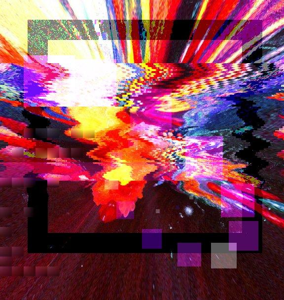 👽🆙 glitchart glitch dolls art noiseart gluedoll artworks Origin img by @egg_210