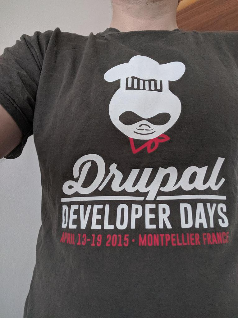 5 years ago today was the start of @drupaldevdays Montpellier. Sweet memories! Too bad we couldn't meet again in Ghent last week, but we'll be back! #Drupal #DrupalDevDays #DrupalMemories #DrupalFr https://t.co/zwqzIGZp21
