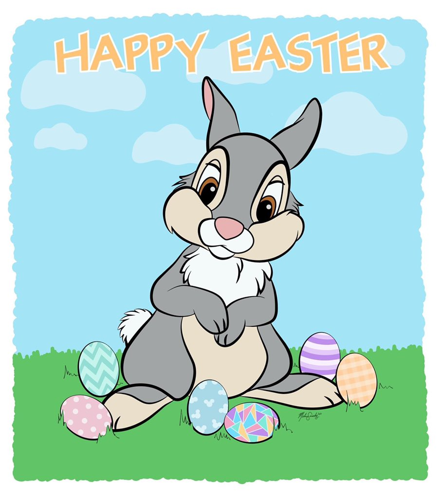 Better late than never, so Happy Easter everyone! Here's a quick little something I drew today. Hope everyone's staying safe. #art #MelissaSanchezArt #easter #HappyEaster #bunny #rabbit #Thumper #EasterRabbit #EasterEggs #quarantine #drawing #Disney #artistsontwitter https://t.co/G8Uv0MrBOj