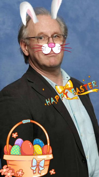 A very happy birthday to my favourite Easter Bunny Peter Davison