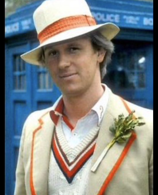 Happy birthday Peter Davison, fifth Doctor and composer of the theme tune to Button Moon...bet you didn t know that.