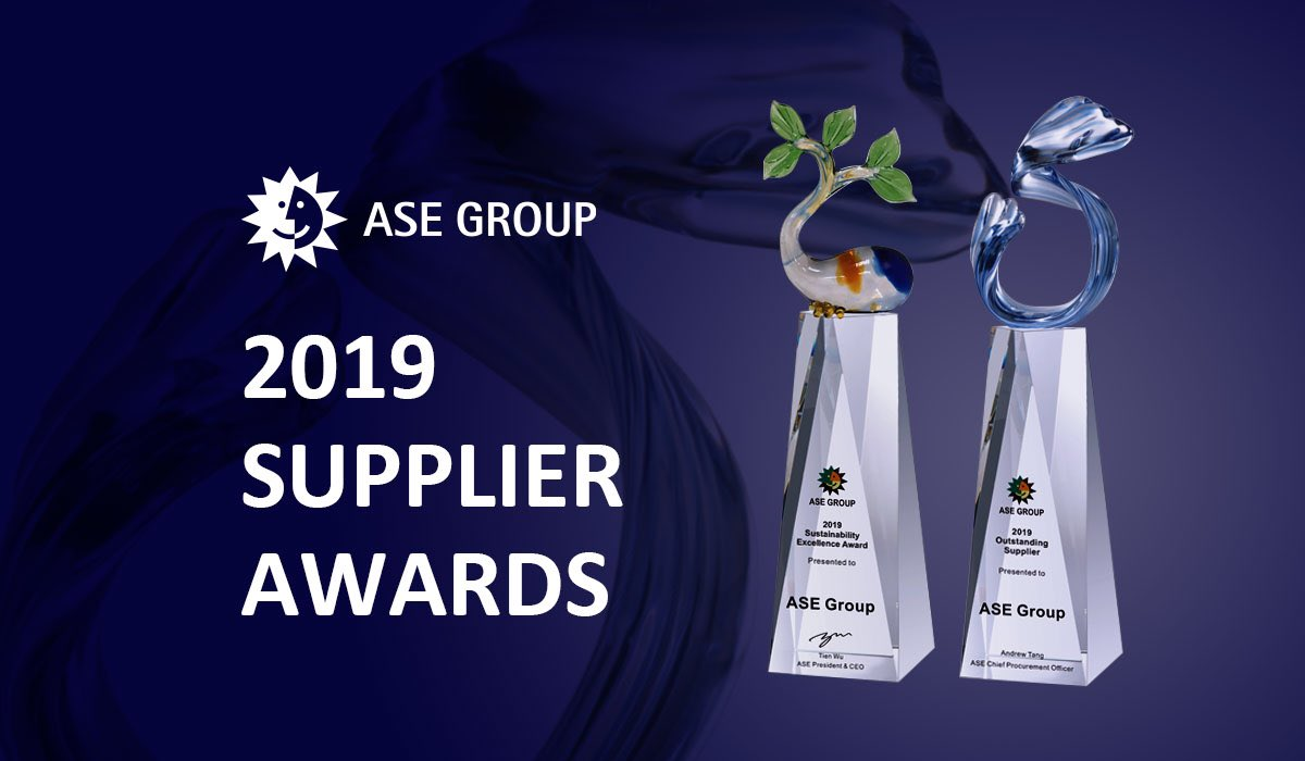 Congratulations to all 24 winners of ASE Supplier Awards. Thank you for your #partnership and support! Let's ride through this extra challenging period and emerge stronger than ever https://t.co/wQvJFsxLq3 https://t.co/lEaQ2bEGhP