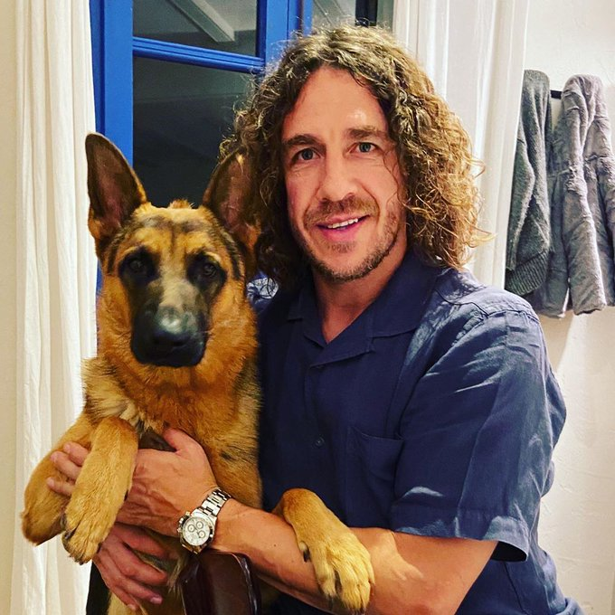 """Happy Birthday to this Barcelona and Spanish football legend \""""Carles Puyol\"""" who turns 42 today"""