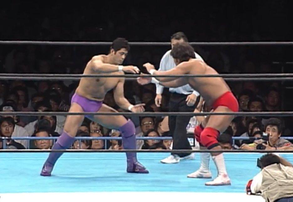 Keiji Mutoh versus Nobuhiko Takada