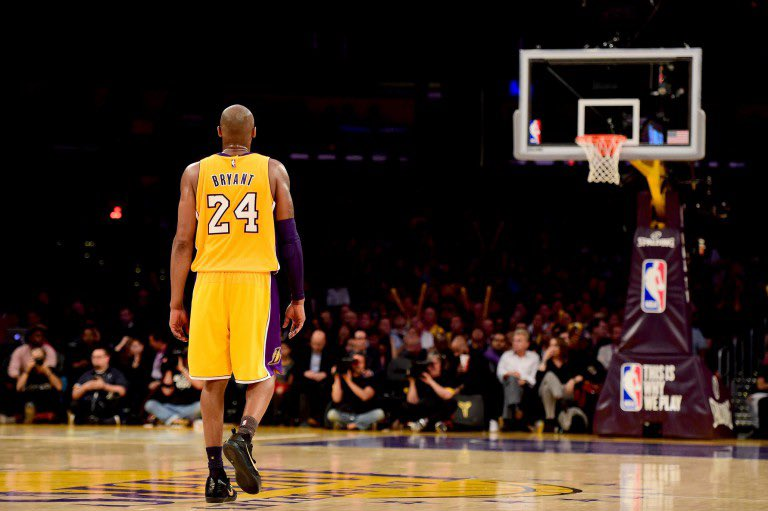 """""""What else can I say? Mamba Out!""""  April 13, 2016.   🐍 🐍 🐍 https://t.co/ltrBDvzZ4Y"""