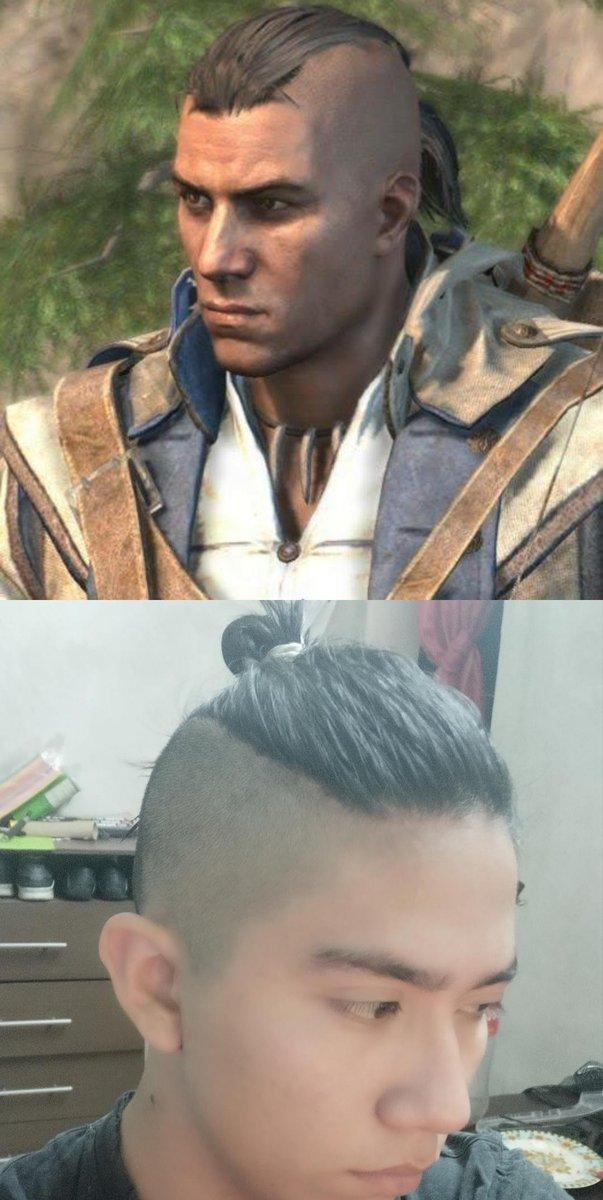 assassins creed 3 connor haircut