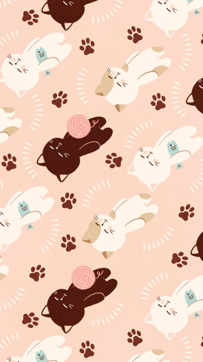 Omiyu みゆき おやすみねこ壁紙 Illust Illustration 壁紙 イラスト Iphone壁紙 ねこ 猫 Cat