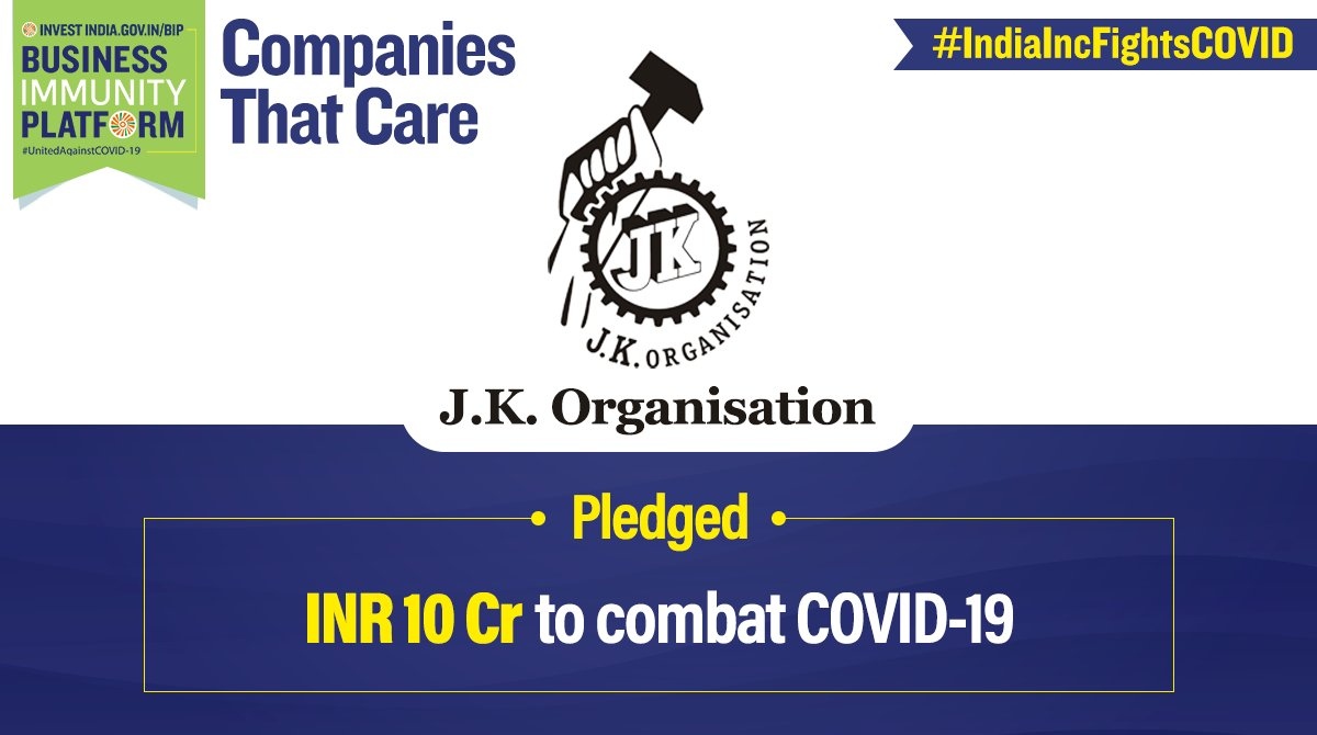 #CompaniesThatCare #JKOrganisation is making a substantive impact in the fight against #COVID19 by working on ground to help migrant workers and other communities! Visit http://bit.ly/II_BIP for similar updates.   #coronavirusIndia #CoronavirusOutbreakIndia  @PMOIndia @DIPPGOIpic.twitter.com/prXJiNRaXc