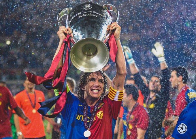 Happy Birthday 42 tahun Carles Puyol