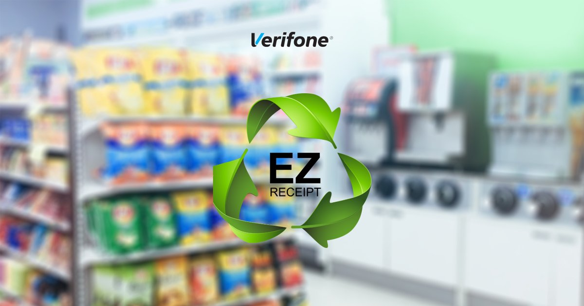 EZ-Receipt, Verifone's cloud-based electronic receipt service, is ideal for convenience stores looking to switch from paper receipts to a seamless, cost-effective, and eco-friendly electronic receipt platform. Signing up is easy! Visit https://t.co/S0JWySSAr8 for more info. https://t.co/zXvV6pagld