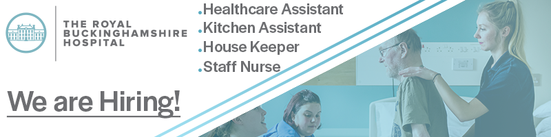 Have you just come out of education lost and looking to start a career somewhere? Well then consider becoming a Healthcare Assistant for The Royal Buckinghamshire Hospital! We are looking for ambitious, compassionate individuals to join our team.  https://t.co/iPrQwOZiLc #ukihma https://t.co/0VWnQLZ4ZT