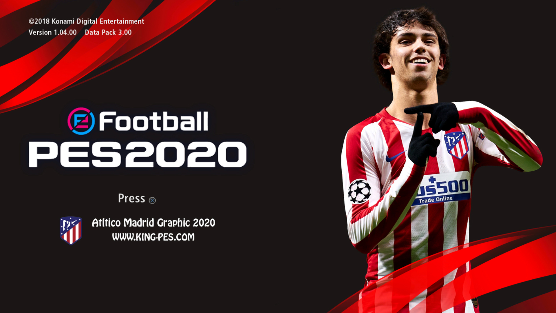 Gaming With Tr On Twitter Pes 2017 Atletico Madrid Pes 2020 Graphic Menu Video Preview Https T Co Cmduqcc9z3