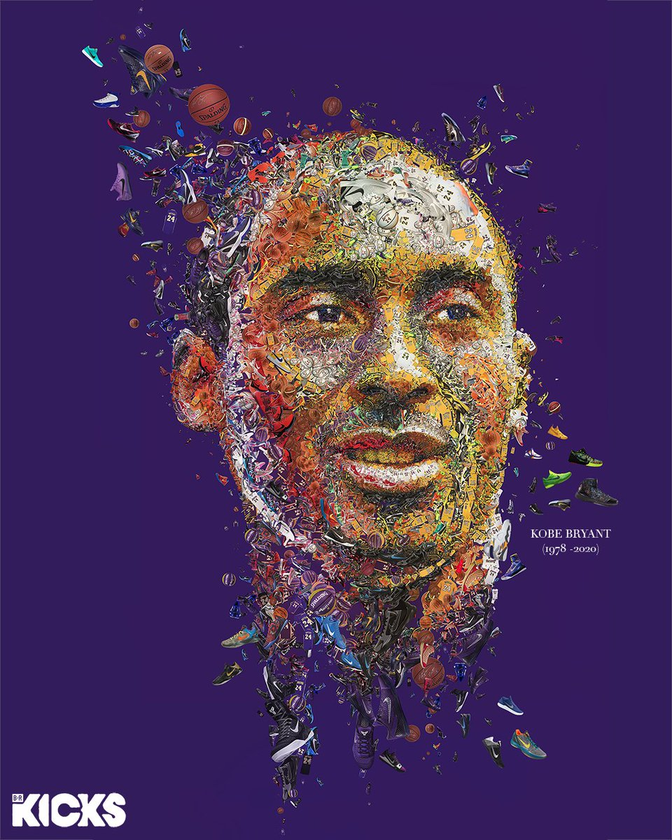 Kobe's NBA career ended four years ago today.   Icon forever 👟 @brkicks https://t.co/OeTyYdTjKP