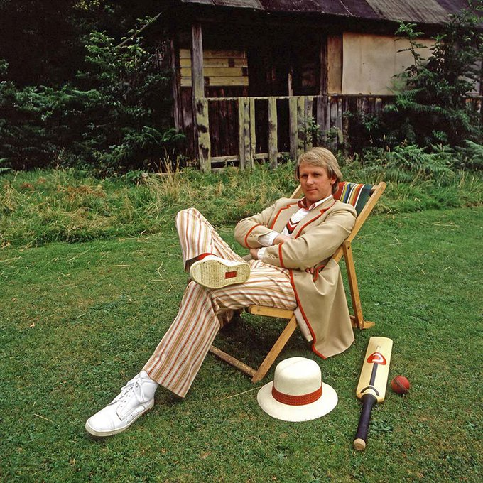 Anyway, back to Doctor Who. Happy Birthday, Peter Davison.